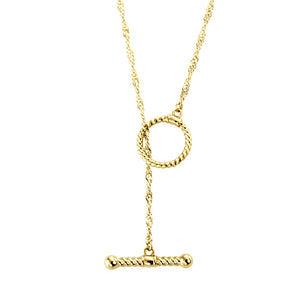 GNSS137 STAINLESS STEEL NECKLACE