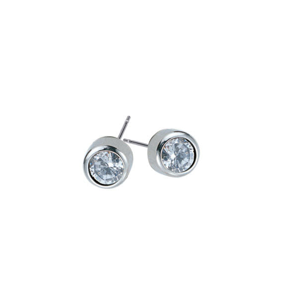 GESS01 STAINLESS STEEL EAR STUD   (price by per Pair)