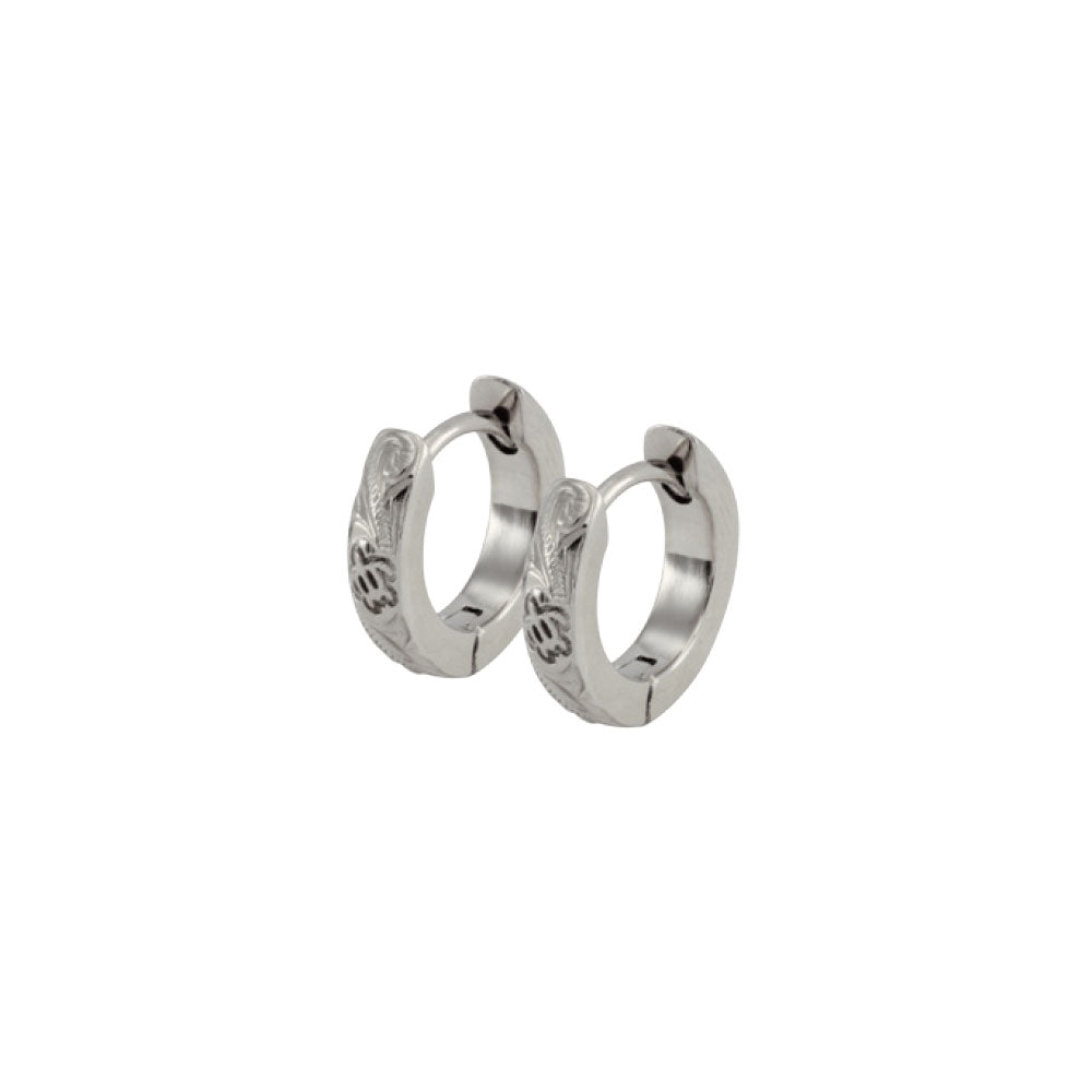 GESS183 STAINLESS STEEL EARRING