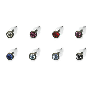 GESS62 STAINLESS STEEL EAR STUD   (price by per Pair)