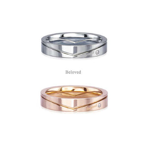 GRSD117 STAINLESS STEEL RING  Beloved