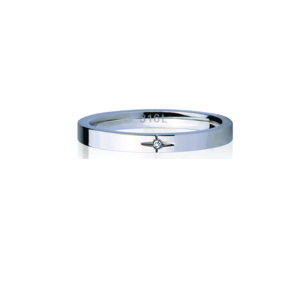 GRSS242 STAINLESS STEEL RING