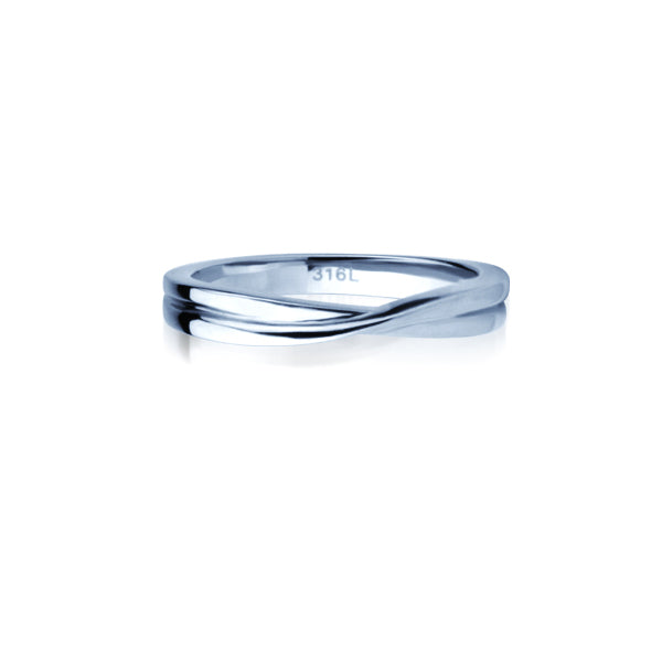 GRSS266 STAINLESS STEEL RING
