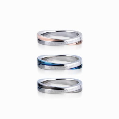 GRSS207 STAINLESS STEEL RINGFill your life with love