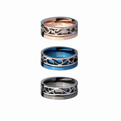 GRSS239 STAINLESS STEEL RING