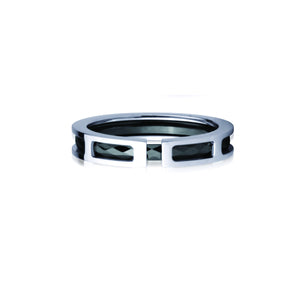 GRTS89 STAINLESS STEEL-TUNGSTEN RING inside part: 2.0 * 1.5