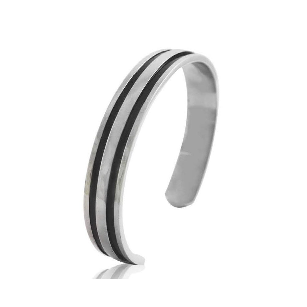 INB73A STAINLESS STEEL BANGLE W PVD