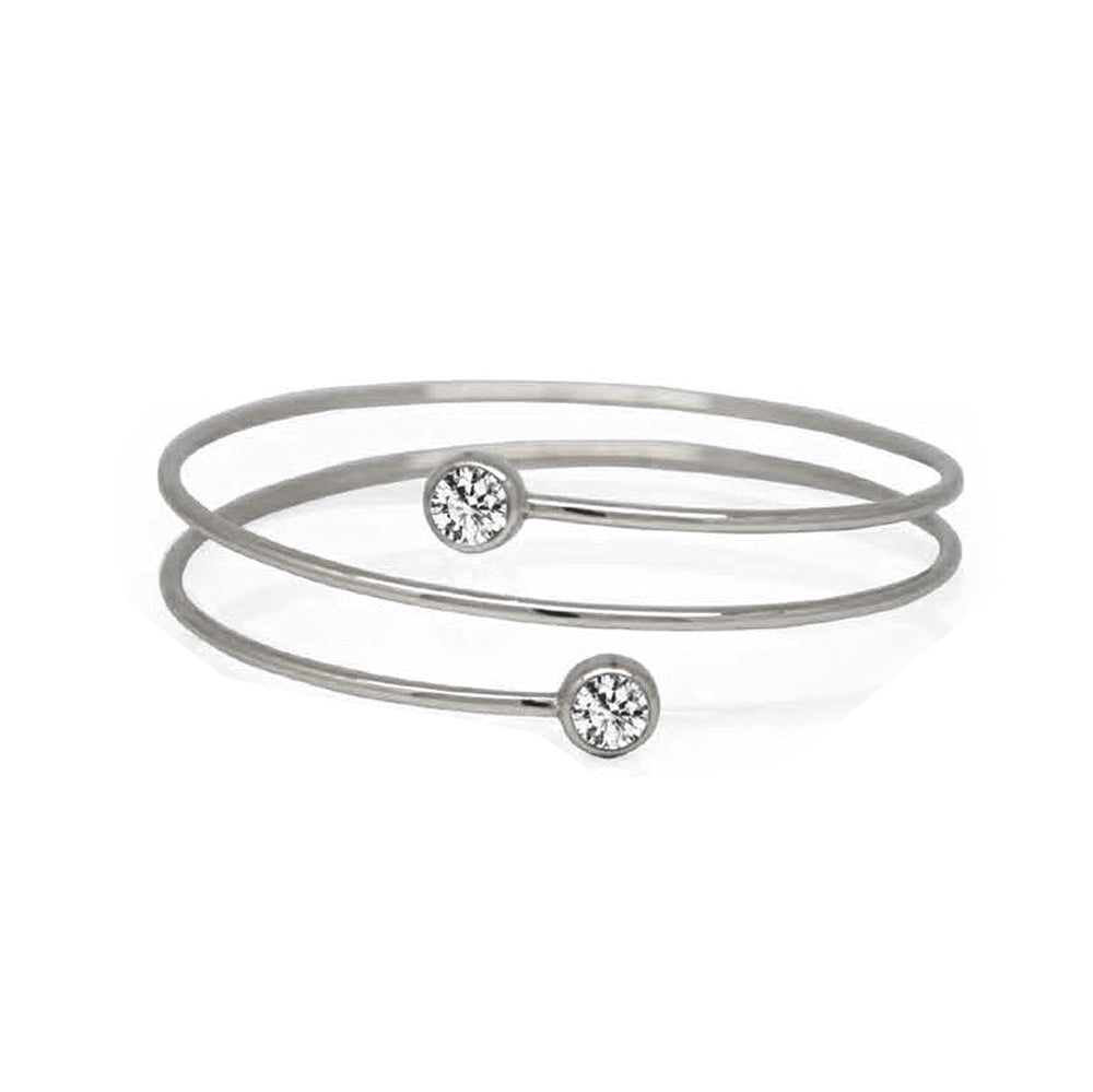 INB76A STAINLESS STEEL BANGLE