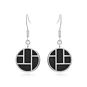 INER100A STAINLESS STEEL EARRING