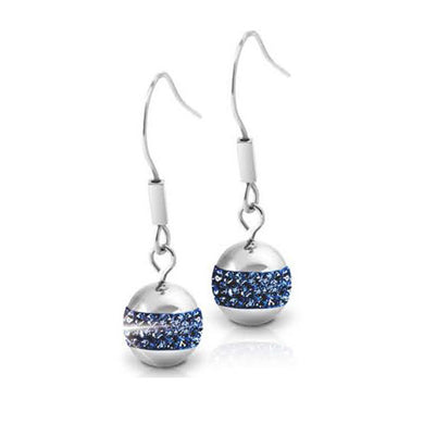 INER46C PRECIOSA BALL EARRINGS