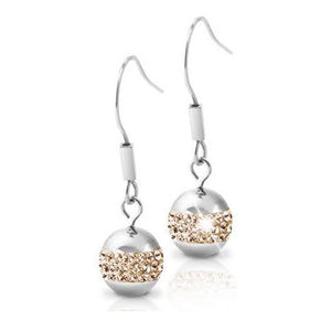 INER46D PRECIOSA BALL EARRINGS