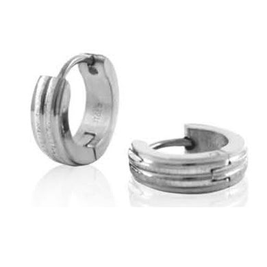INER77A STAINLESS STEEL EARRING