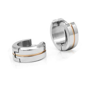 INER96B STAINLESS STEEL EARRING