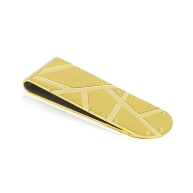 INM04B STAINLESS STEEL MONEY CLIP