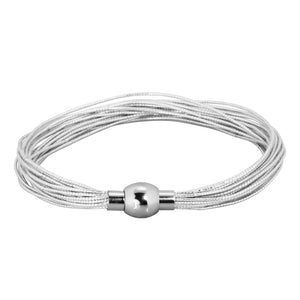 INBR175 STAINLESS STEEL BRACELET WITH ELASTIC STRING
