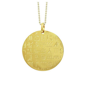 INP259C STAINLESS STEEL EGYPT PENDANT W PVD