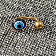 Load image into Gallery viewer, JRTH28 HELIX WITH EVIL EYE RESIN