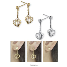 Load image into Gallery viewer, ESS452 STAINLESS STEEL EARRING