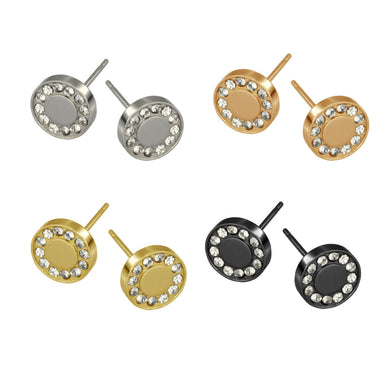 ESS640 STAINLESS STEEL EARRING
