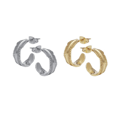 GESS133 STAINLESS STEEL EARRING