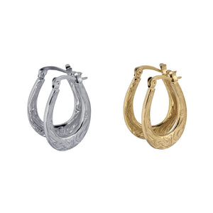 GESS141 STAINLESS STEEL EARRING