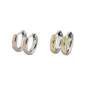 GESS154 STAINLESS STEEL EARRING