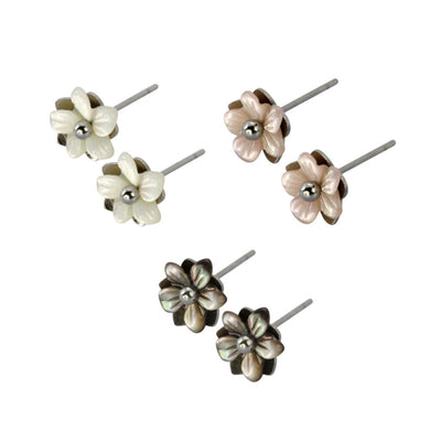 GESS176 STAINLESS STEEL EARRING