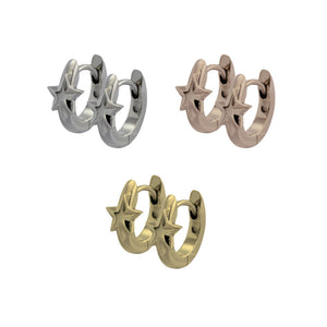 GESS184 STAINLESS STEEL EARRING