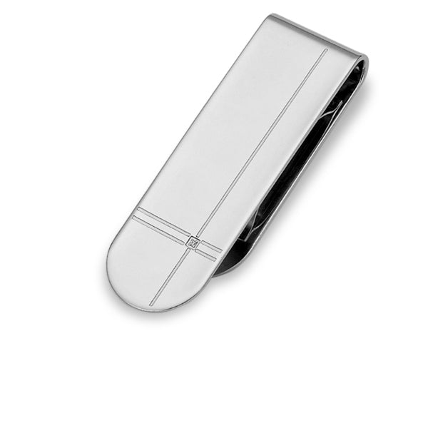 MAMS09 STAINLESS STEEL MONEY CLIP