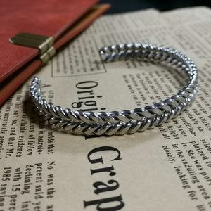 MBSG01 STAINLESS STEEL BANGLE