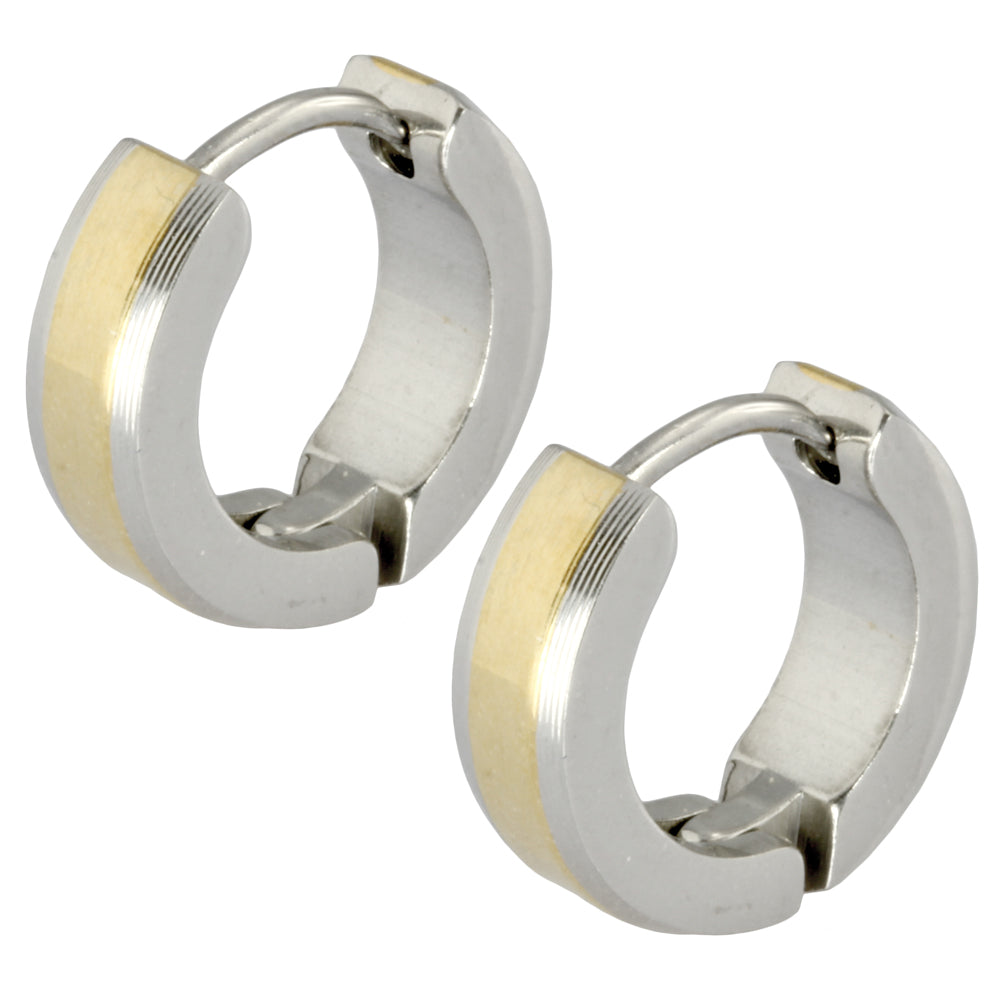 MESS11 STAINLESS STEEL EARRING