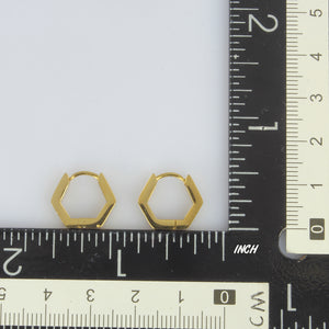 MESS20 STAINLESS STEEL EARRING