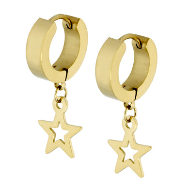 MESS24 STAINLESS STEEL EARRING WITH STAR