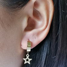 Load image into Gallery viewer, MESS24 STAINLESS STEEL EARRING WITH STAR