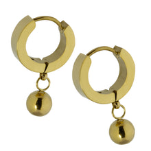 Load image into Gallery viewer, MESS25 STAINLESS STEEL EARRING WITH BALL