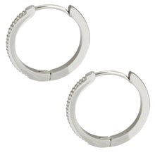Load image into Gallery viewer, MESS29 STAINLESS STEEL EARRING WITH CZ