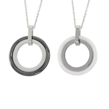 Load image into Gallery viewer, MNSS04 STAINLESS STEEL NECKLACE WITH CERAMIC