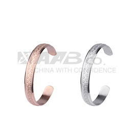 BSSD02 STAINLESS STEEL BANGLE