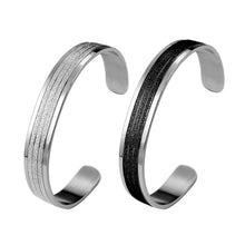 Load image into Gallery viewer, BSSG21 STAINLESS STEEL BANGLE