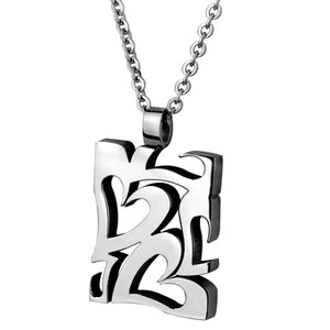 NSS51 STAINLESS STEEL PENDANT