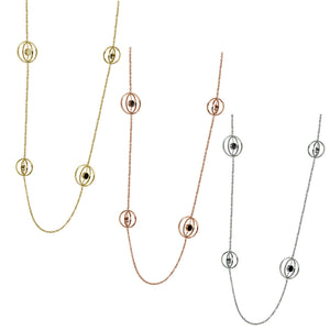 NSS662 STAINLESS STEEL NECKLACE