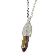 Load image into Gallery viewer, PSS1099 STAINLESS STEEL PENDANT WITH NATURAL STONE
