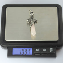 Load image into Gallery viewer, PSS1100 STAINLESS STEEL PENDANT WITH NATURAL STONE
