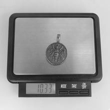 Load image into Gallery viewer, PSS1129 STAINLESS STEEL PENDANT WITH 925 BLACK