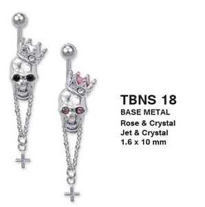 TBNS18 BANANA WITH SKULL DESIGN 1.6 * 10