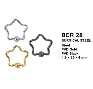 BCR28 BCR WITH STAR DESIGN 1.6 * 12 * 4