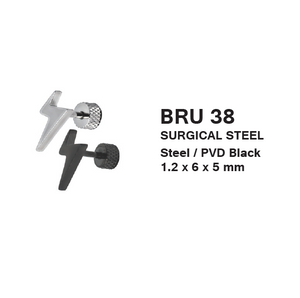 BRU38 FAKE PLUG WITH LIGHTNING  1.2 * 6 * 5 COLOR