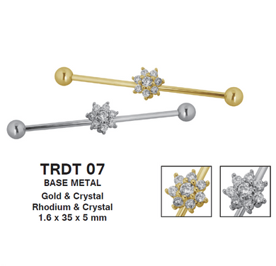 TRDT07 BARBELL WITH BATTERFLY DESIGN 1.6*35*5