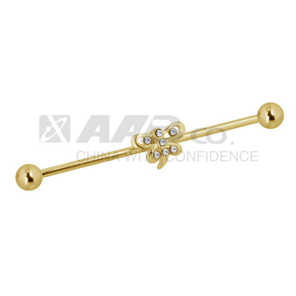 TRDT04 BARBELL WITH BATTERFLY DESIGN