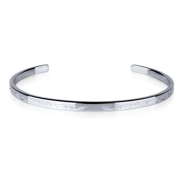 ZGJBSG04 STAINLESS STEEL BANGLE